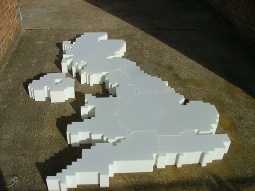 3D Map of Great Britain