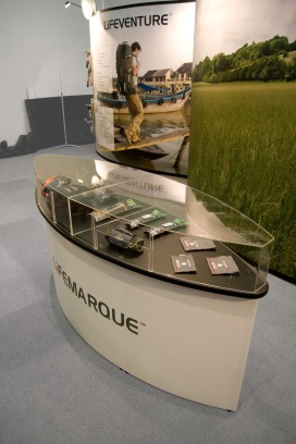 Bespoke Boat Shaped Display Case