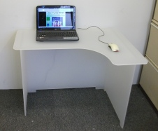 Bespoke Frosted Desk 2