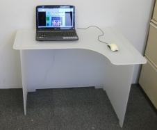 Bespoke Frosted Desk 2
