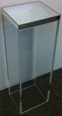 Clear Perspex Case with Mirrored top