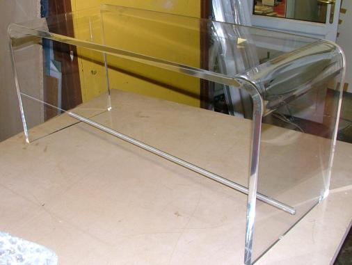 Clear Perspex Seat for well know TV show