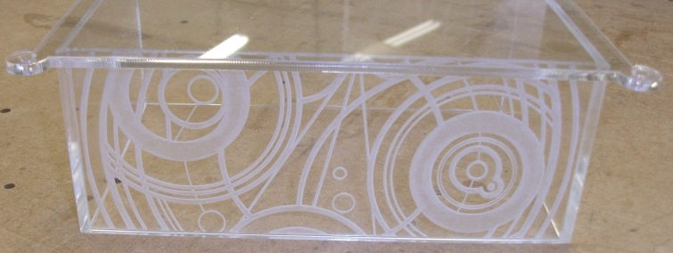 Laser Engraved Display Case