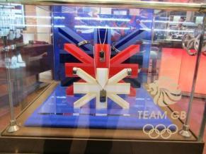 London 2012 Shop Window Display