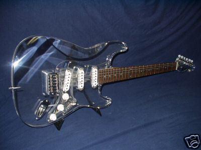 Perspex Guitar