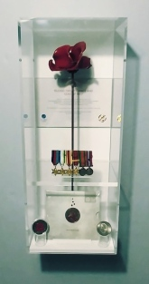 Tower of London Poppy / War Medal Case